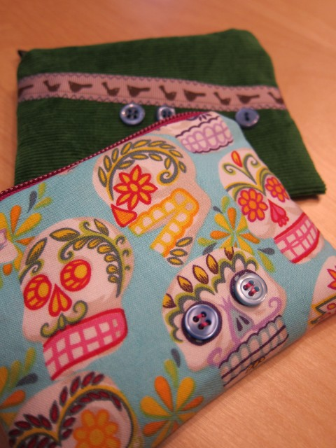 Sugar Skull Coin Purse