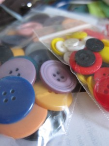 Bags of buttons