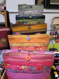 Purses at craft show
