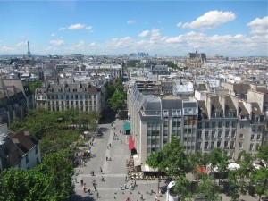 View from Pompidou