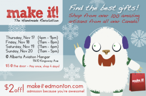 Make-It Edmonton Christmas 2011