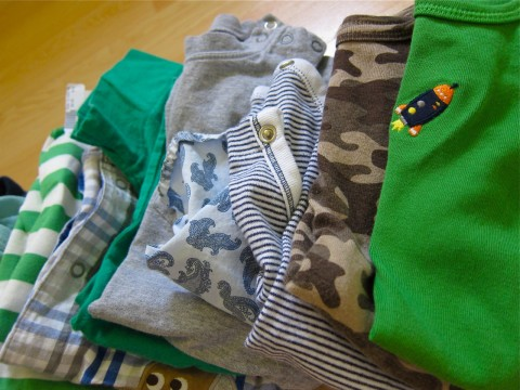 Consignment baby clothes