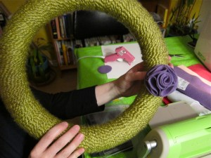 Jan's Yarn Wreath