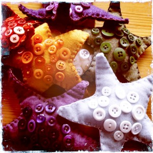 Button Starfish by Bubblegum Sass