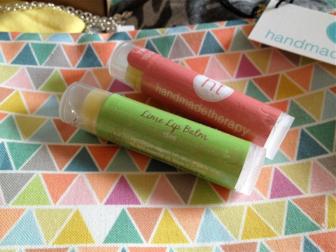 Lip Balm and purse by Handmade Therapy