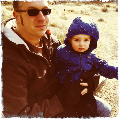 Sam & Marcus in Rocky Mountain National Park