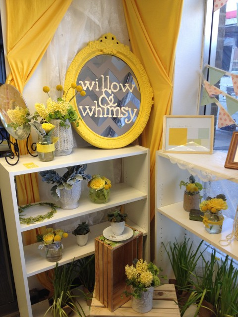 Ethically sourced floral design by Willow & Whimsy