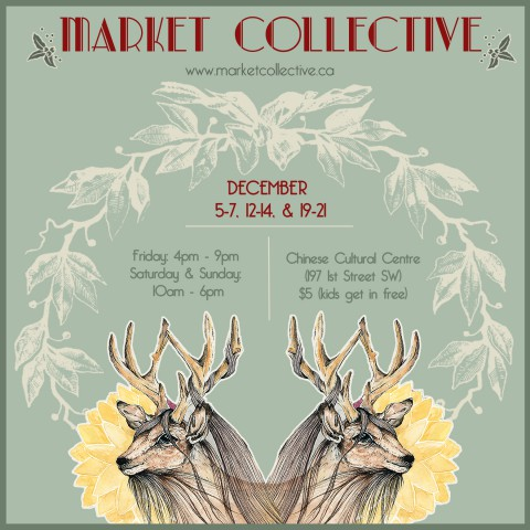 Market Collective Holiday 2014 Poster