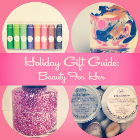 Holiday Gift Guide: Beauty For Her ~ Bubblegum Sass