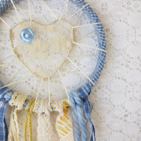 Small Love Catcher by Bubblegum Sass ~ Shabby Chic Country Kitchen Decor