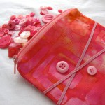 Button Coin Purse by Bubblegum Sass