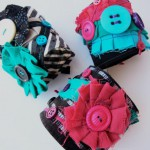 Upcycled Cuff Bracelets by Bubblegum Sass