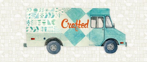 Crafted Artisan Truck in Calgary ~ unique mobile retail featuring local artists & designers