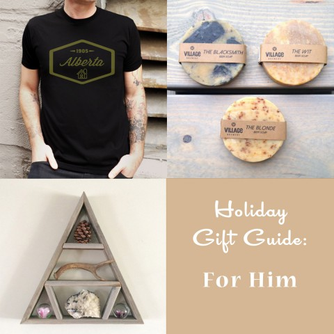 Holiday Gift Guide: For Him ~ By Bubblegum Sass ~ Shop Handmade Canada For Christmas