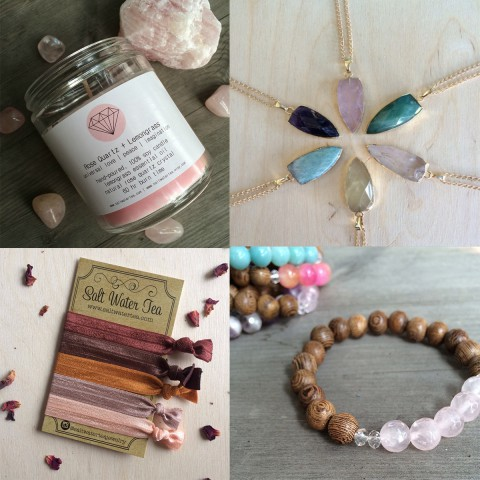 Salt Water Tea ~ Stylish, gemstone jewelry and crystal infused candles ~ Located in Calgary {order online or shop upcoming markets}
