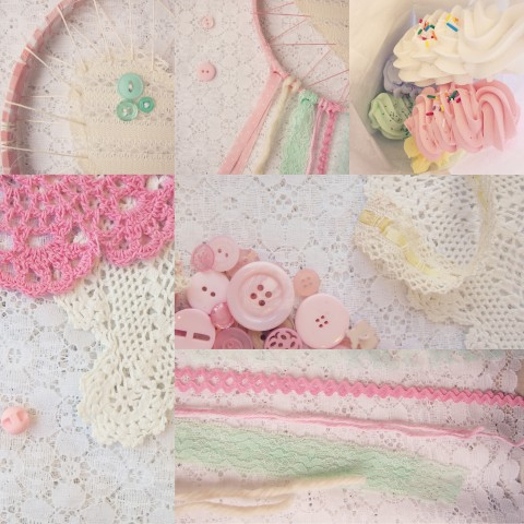 Weekly Color Inspiration ~ By Bubblegum Sass ~ Pastel Pink & Green