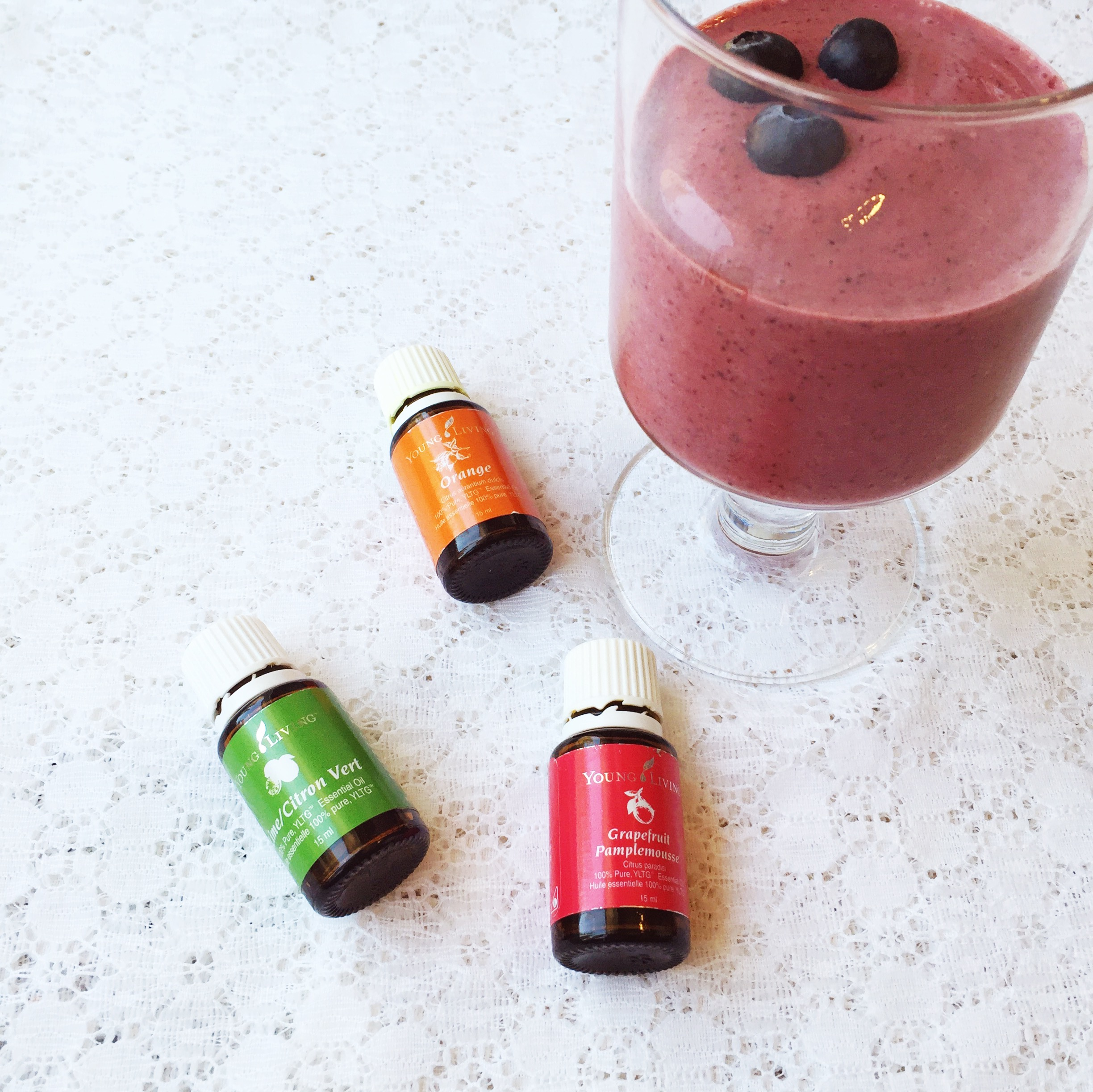 Living With Essential Oils: Smoothie Goodness ~ By Bubblegum Sass ~ Oils that make healthy additions to smoothies