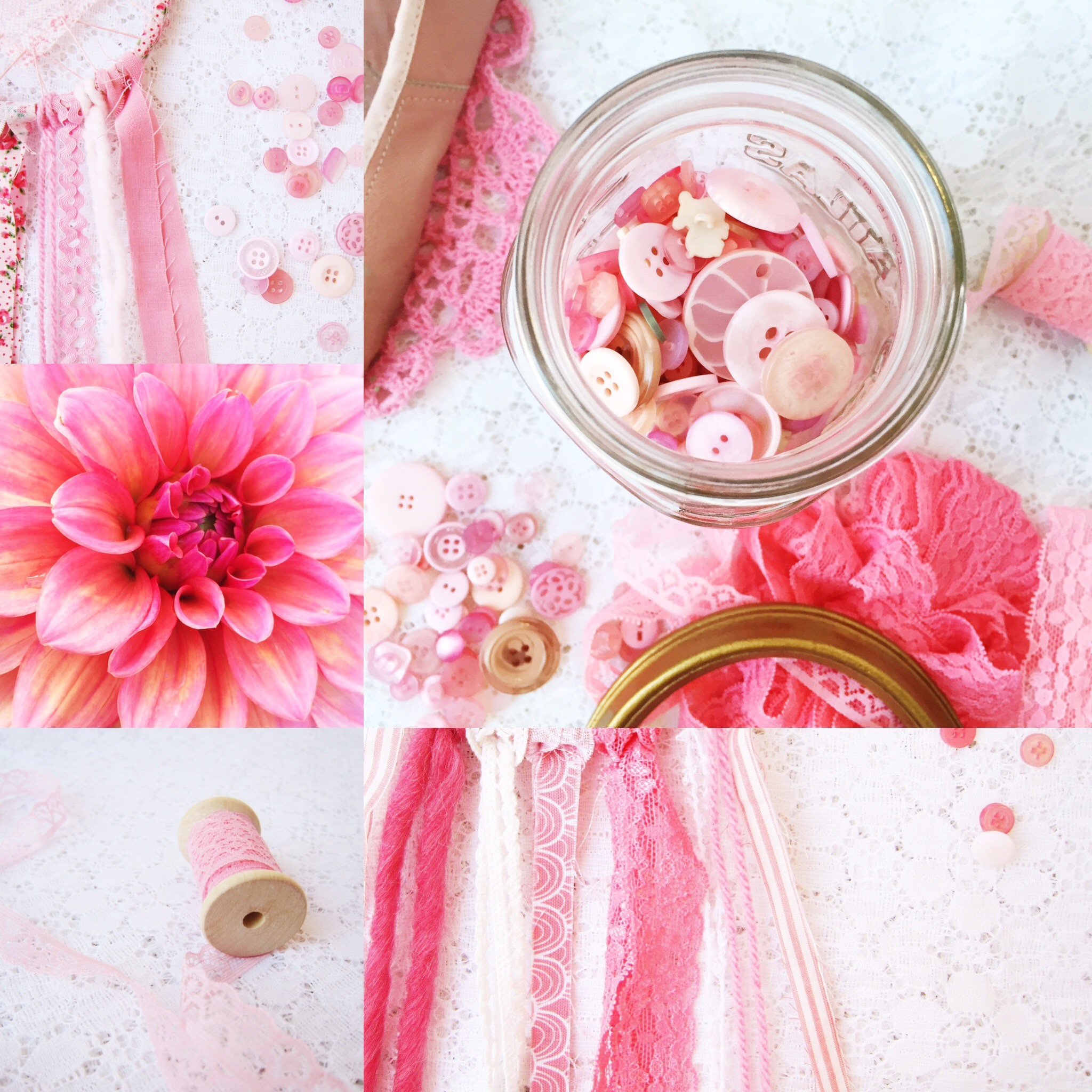 Weekly Color Inspiration ~ By Bubblegum Sass ~ Summer Pink