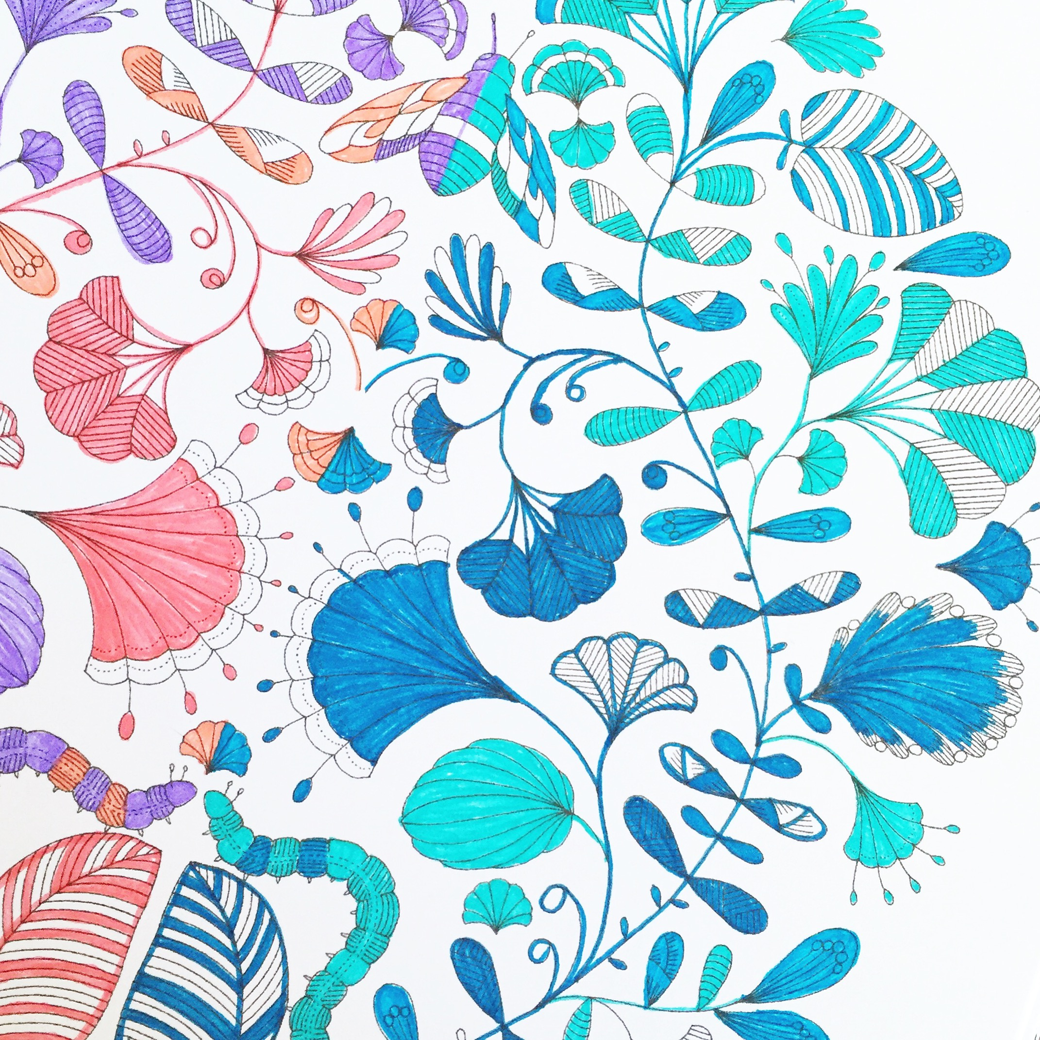 Self-Care in Practice: Adult Coloring Book Therapy ~ By Bubblegum Sass