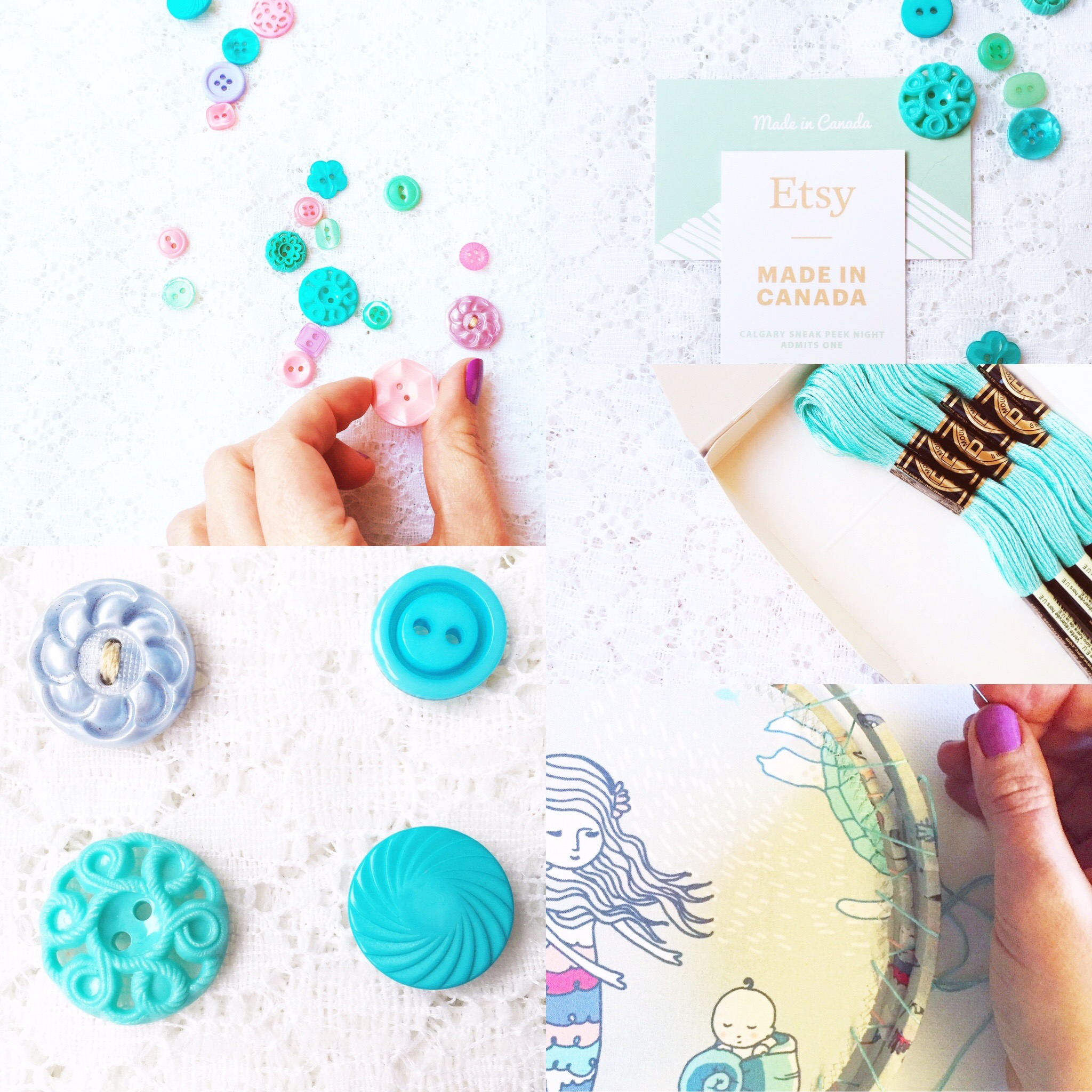 Weekly Color Inspiration ~ By Bubblegum Sass ~ Turquoise & Aqua ~ Nursery Room & Girl's Room Decor Inspo