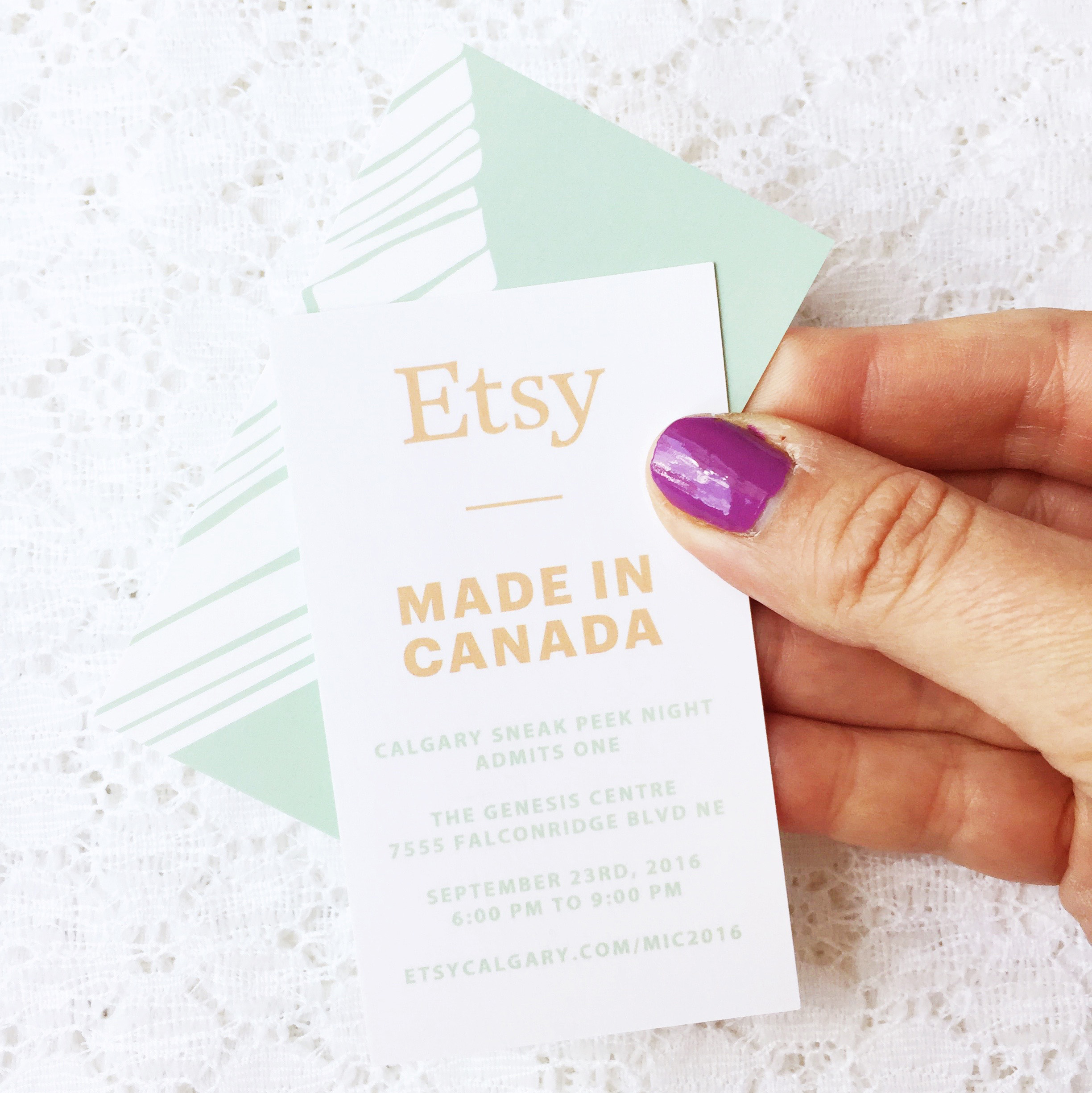 Etsy Calgary: Made In Canada Market, Sept 23-24th ~ Shop Local, Support Handmade