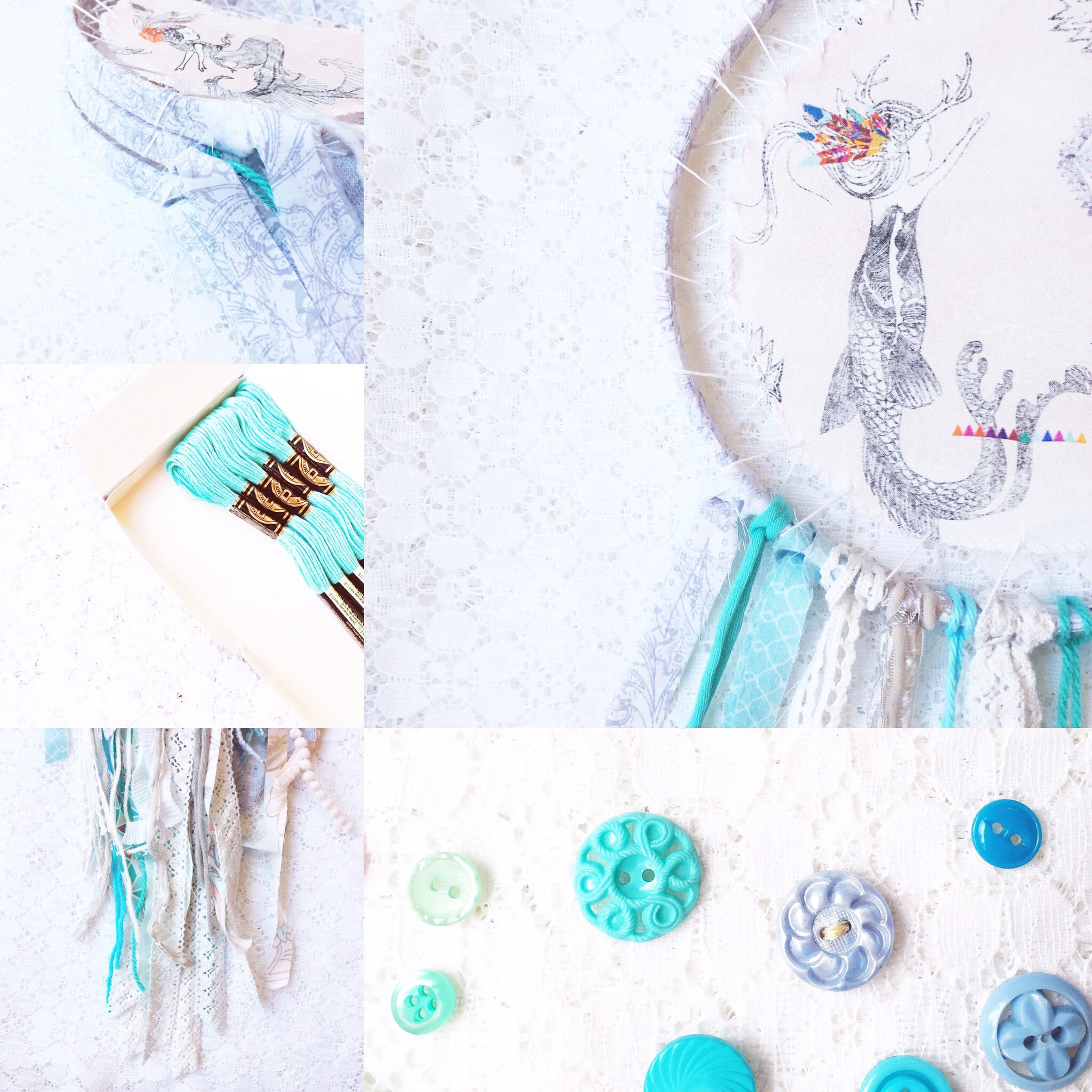 Weekly Color Inspiration ~ By Bubblegum Sass ~ Boho Mermaid ~ Nursery Room & Girl's Room Decor Inspo