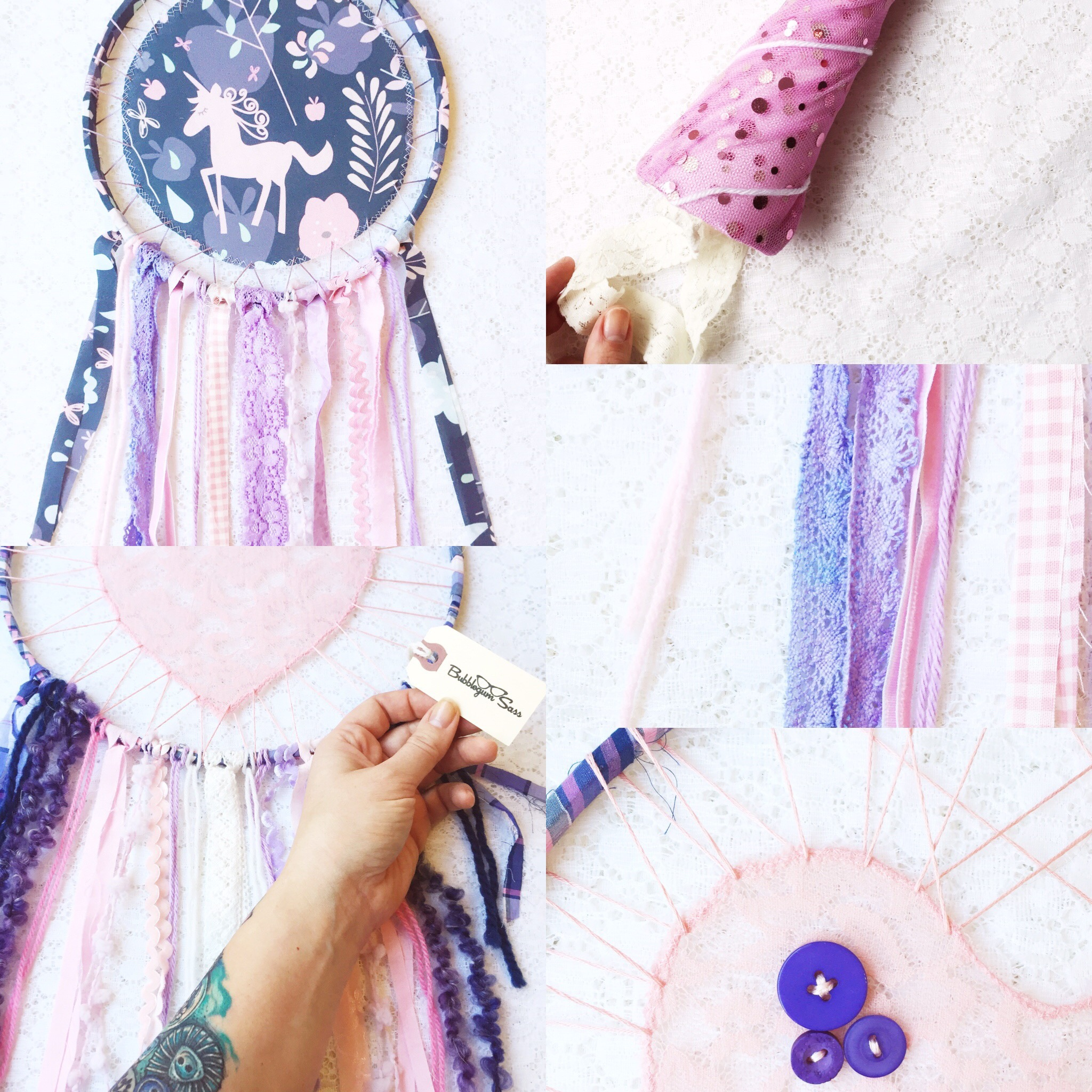 Weekly Color Inspiration ~ By Bubblegum Sass ~ Purple Unicorn ~ Nursery Room & Girl's Room Decor Inspo