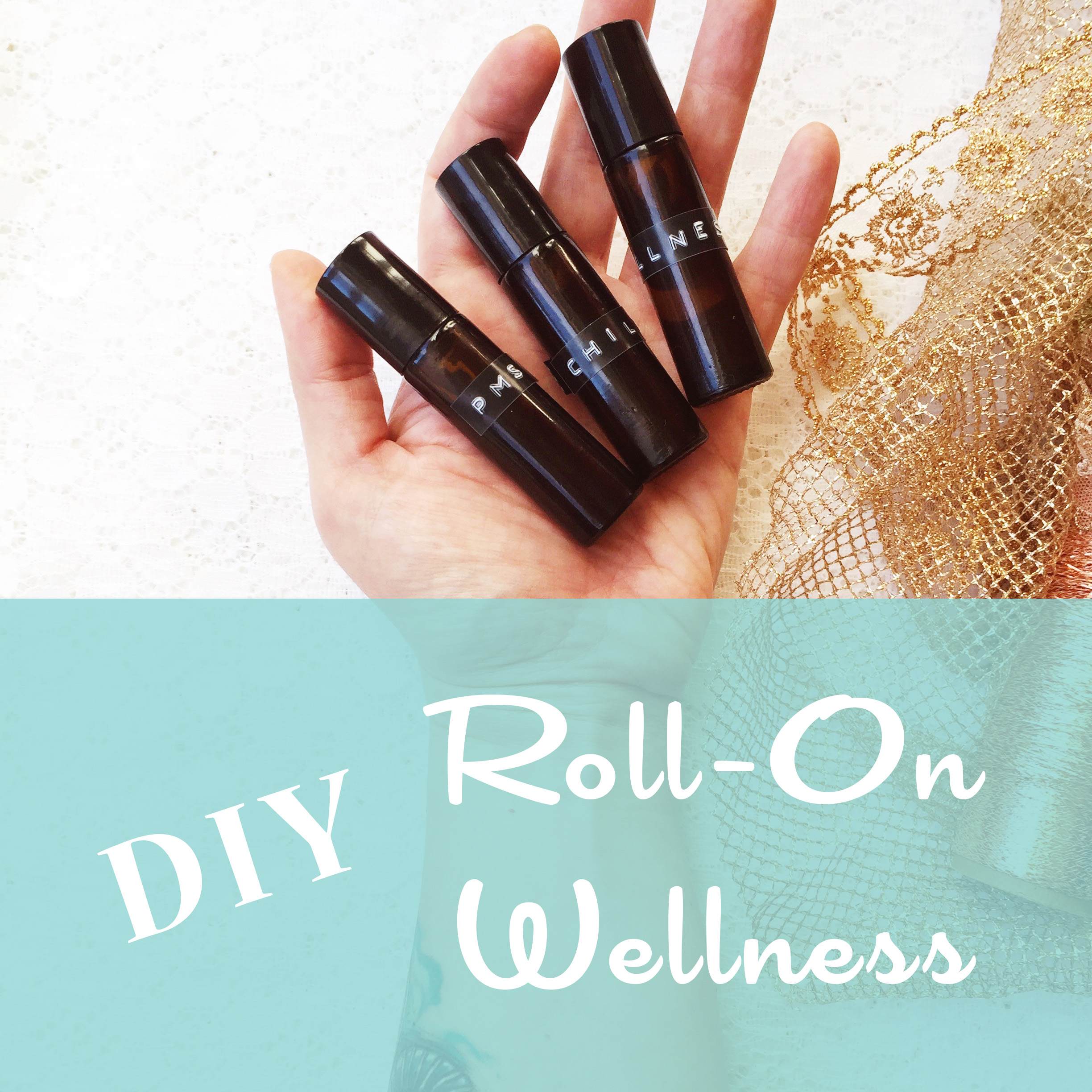 Santa's Workshop: DIY Roll-On Wellness Recipes ~ Essential Oils ~ by Bubblegum Sass