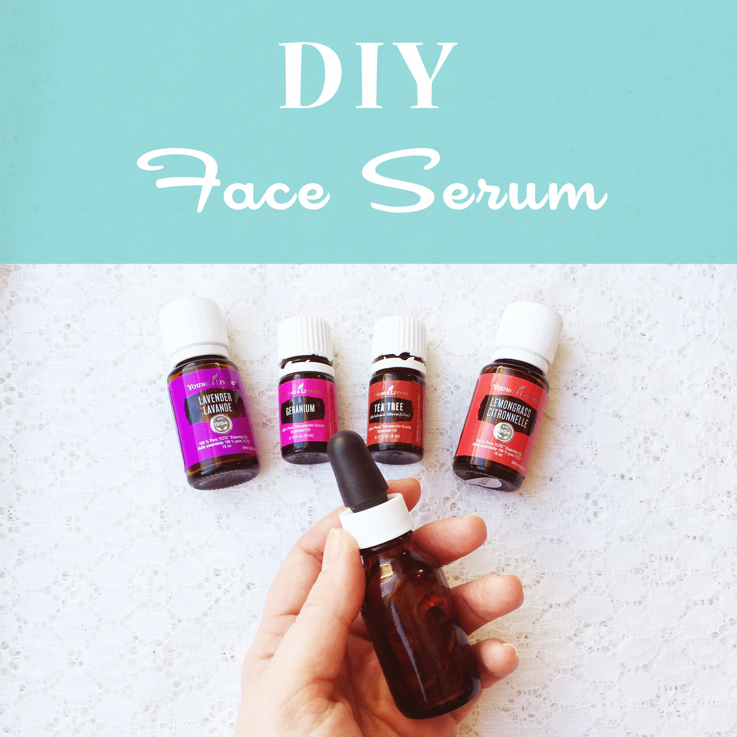 Living with Essential Oils: DIY Face Serum ~ Green Beauty ~ Recipe by Bubblegum Sass