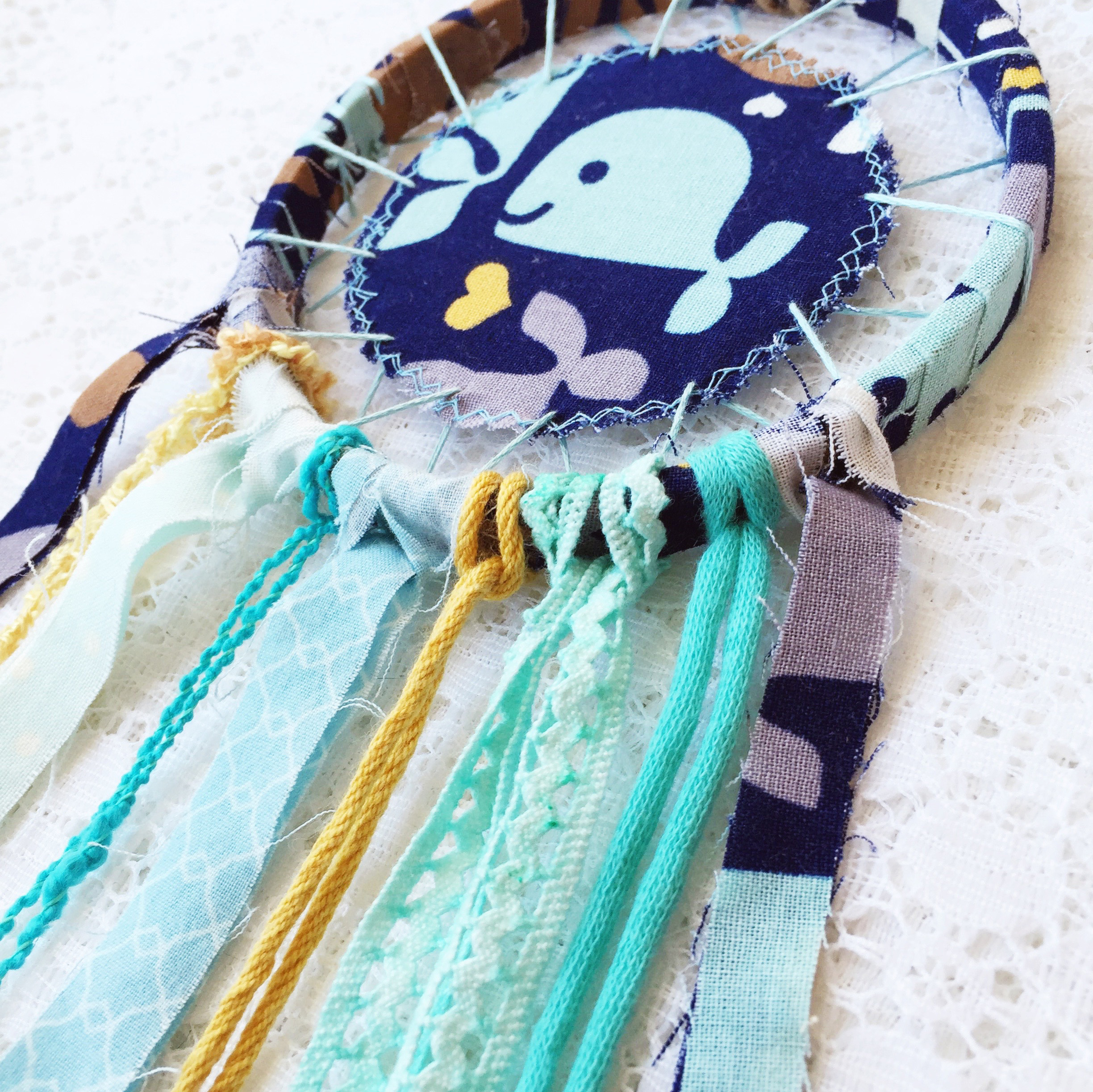 In the Shop: Whale of a Tale ~ Whale Dreamcatchers for Kids