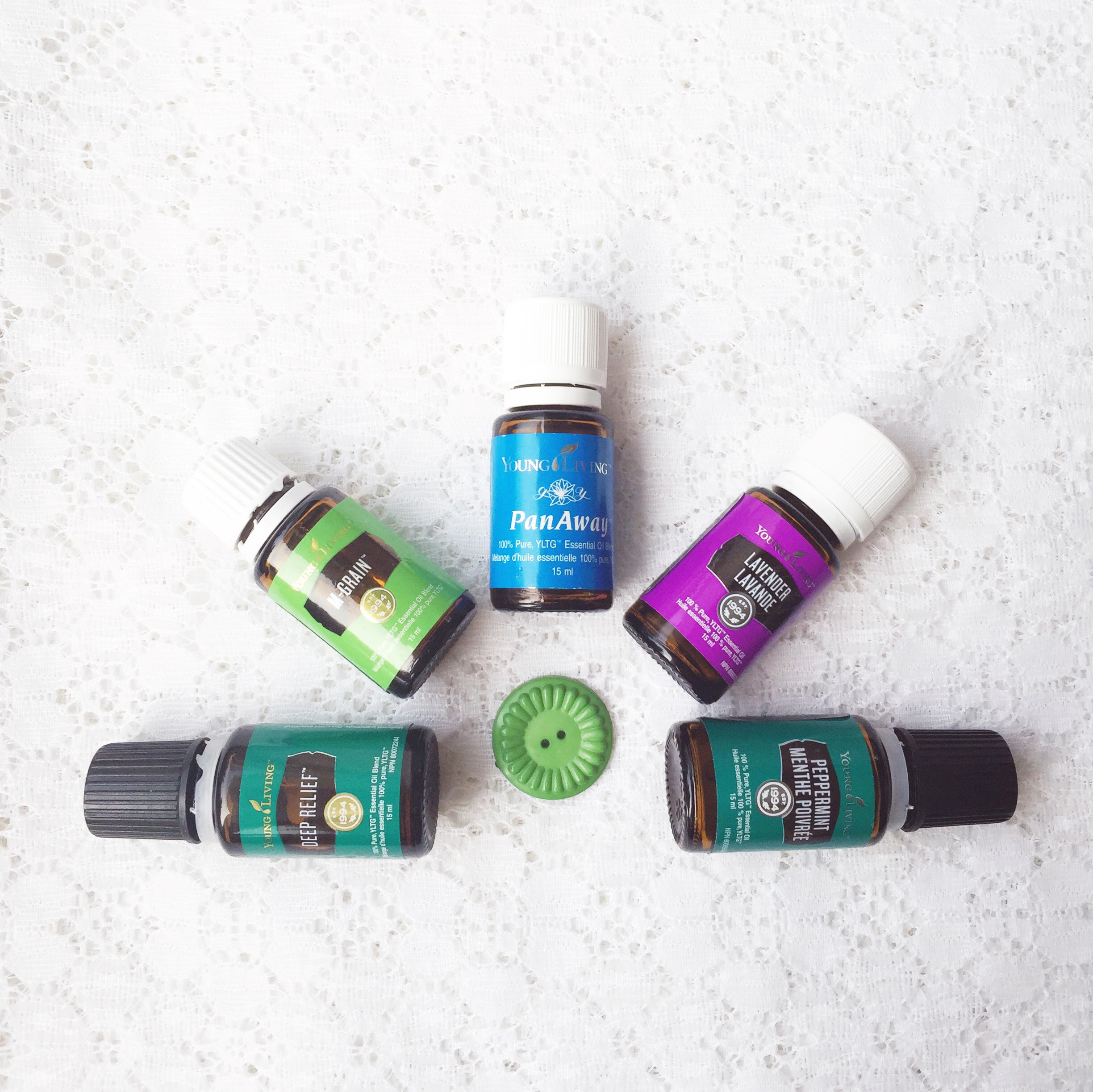 Living With Essential Oils: Releasing Tension ~ Oils for muscle tension & headaches ~ Blog post by Bubblegum Sass