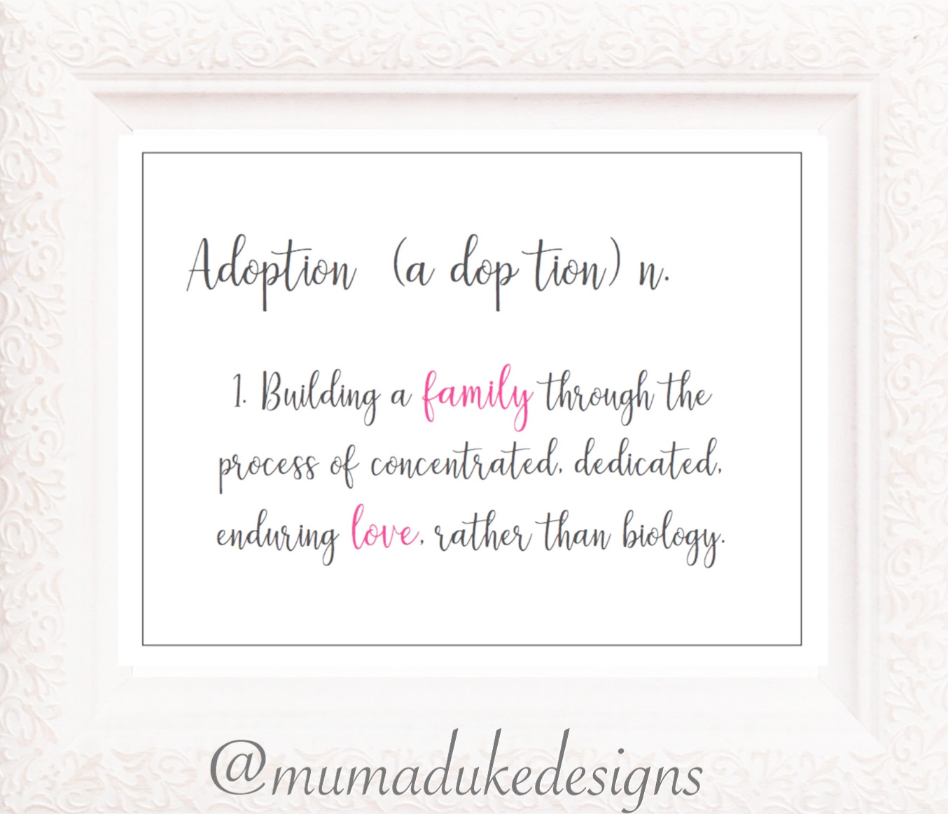 Adoption Journey ~ A different kind of motherhood ~ Blog by Bubblegum Sass
