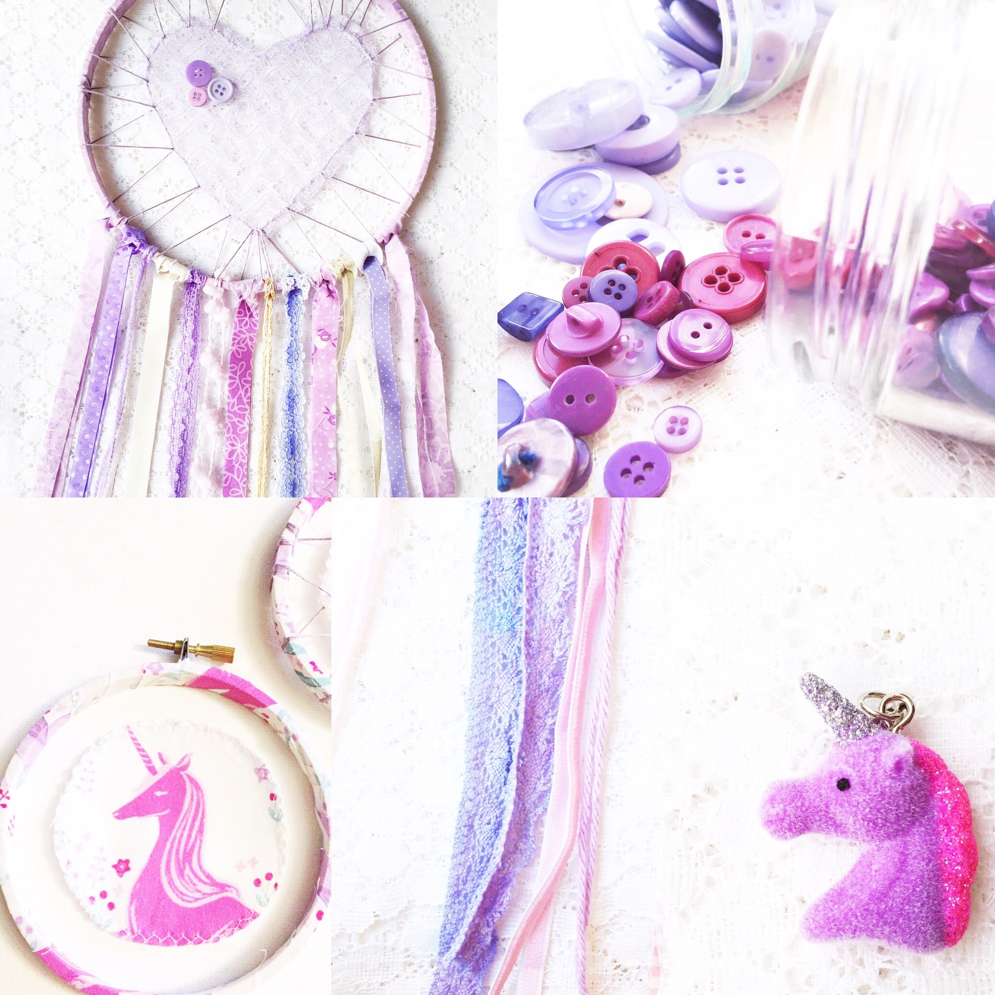 Weekly Color Inspiration: Purple Dreams ~ By Bubblegum Sass ~ Unicorn inspo for nursery & kids room decor