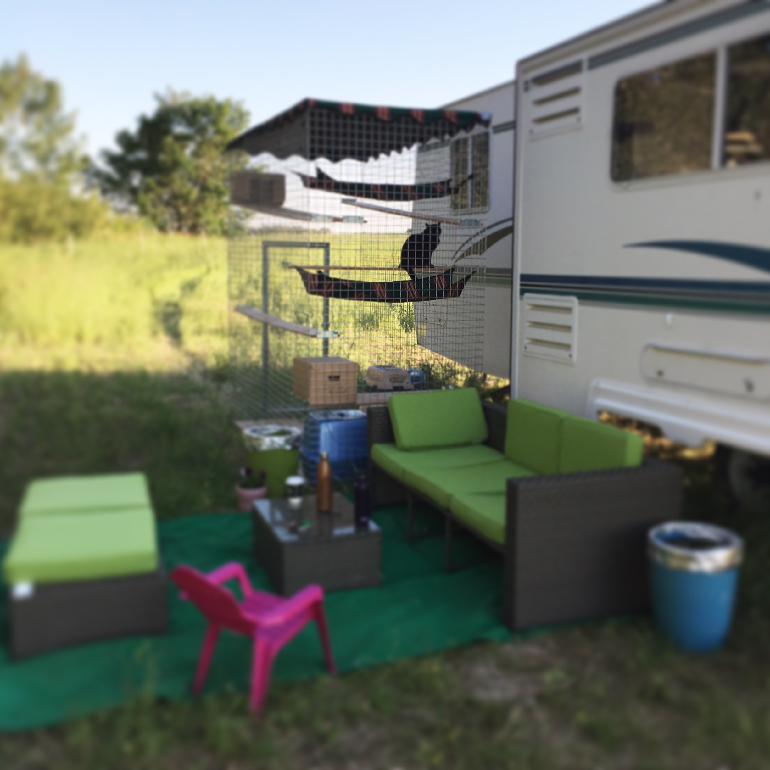 Farm Days: Life in a Trailer ~ The story of starting a small farm in Alberta