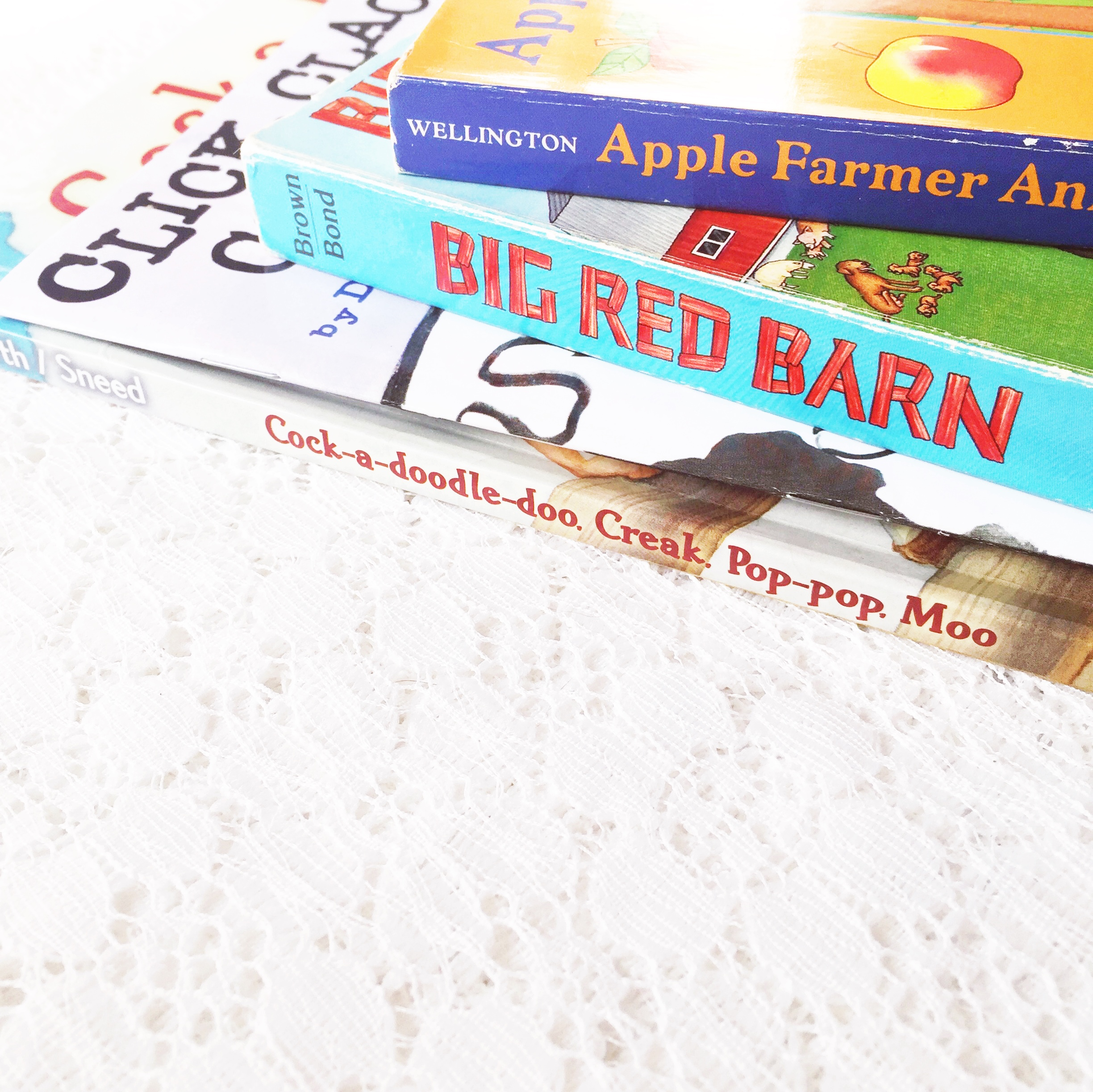 Reading Time: Our Fave Farm Books ~ Good Reads for Kids