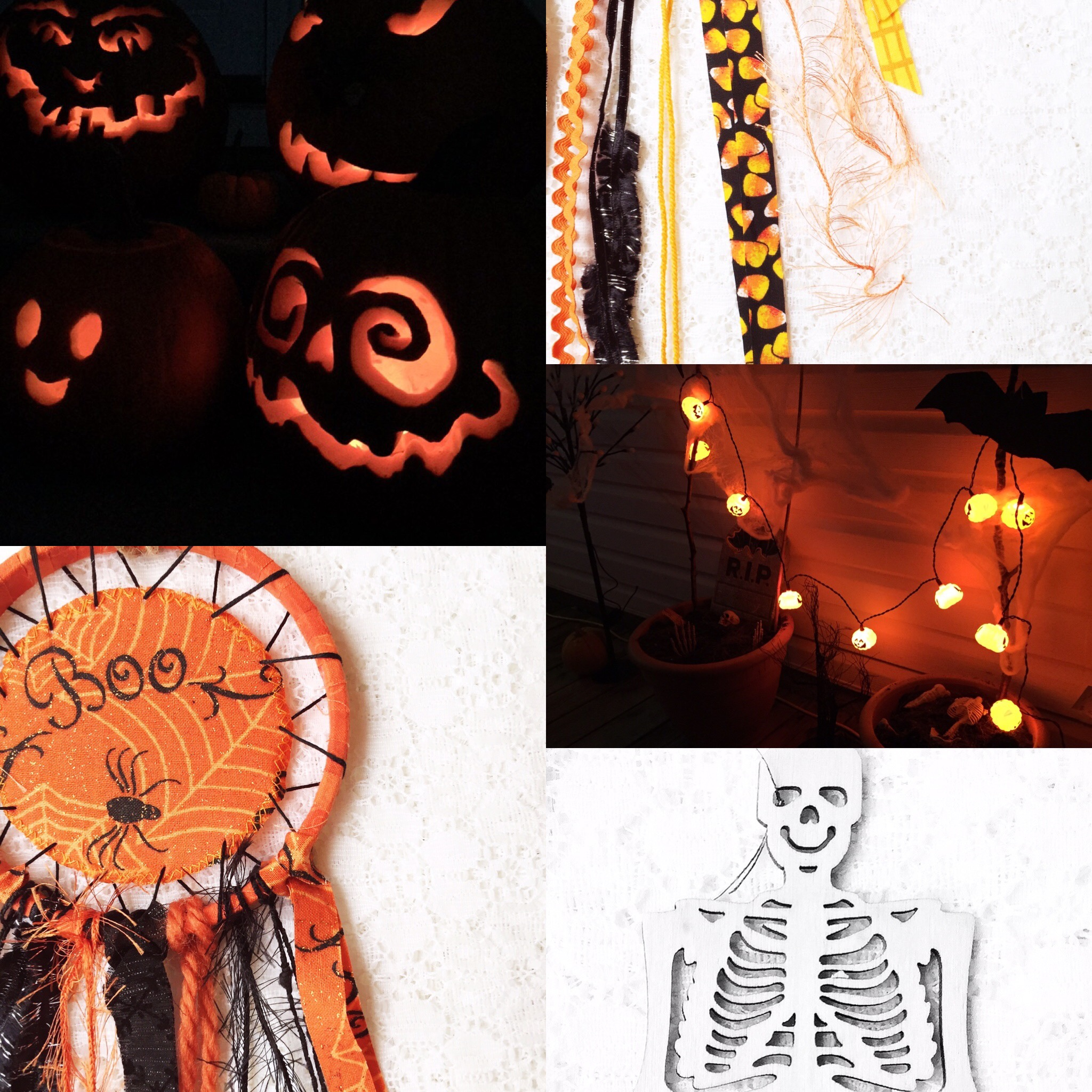 Color Inspiration: Halloween Glow ~ Crafty Inspiration for Halloween