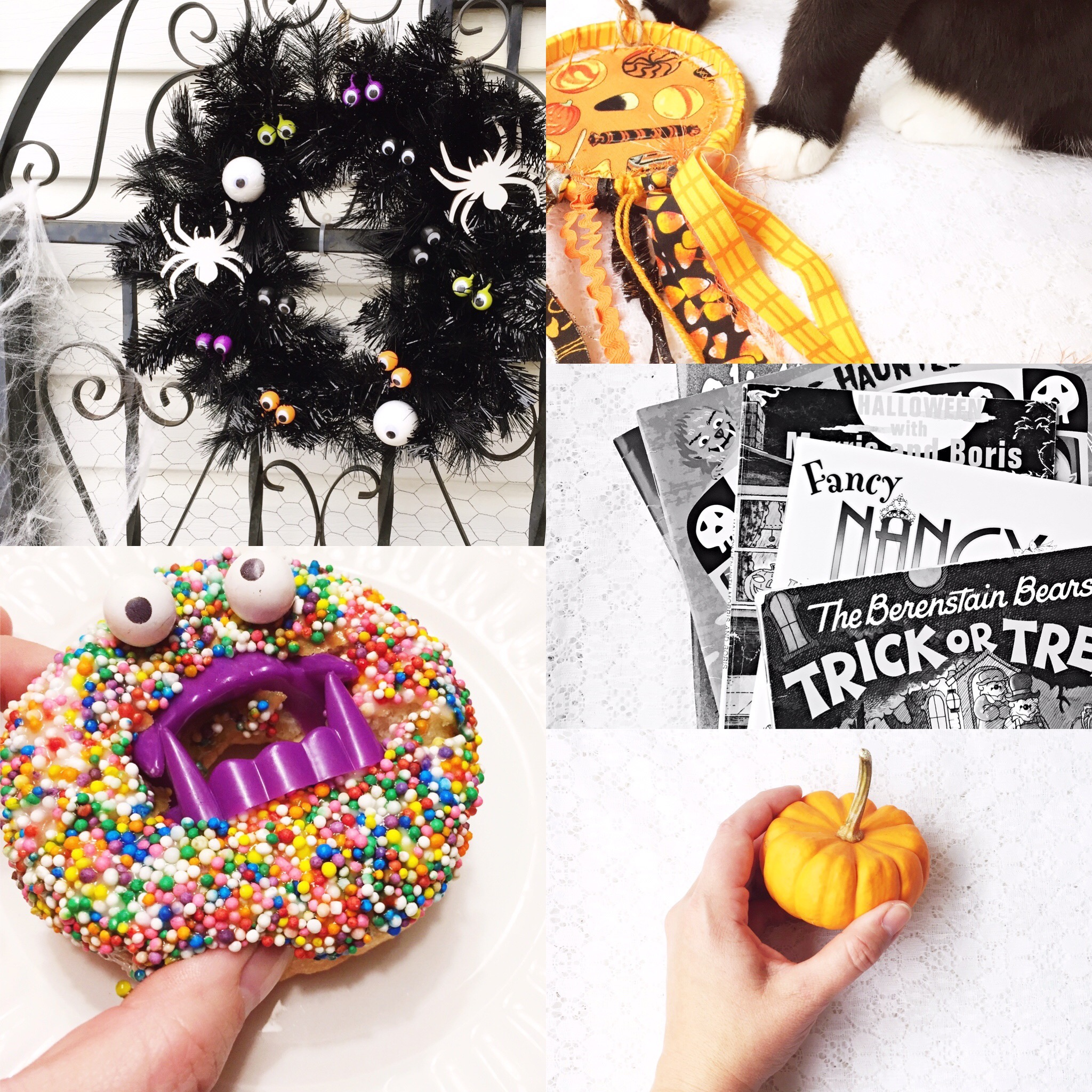 Color Inspiration: Spooky TImes ~ Crafty Inspiration for Halloween