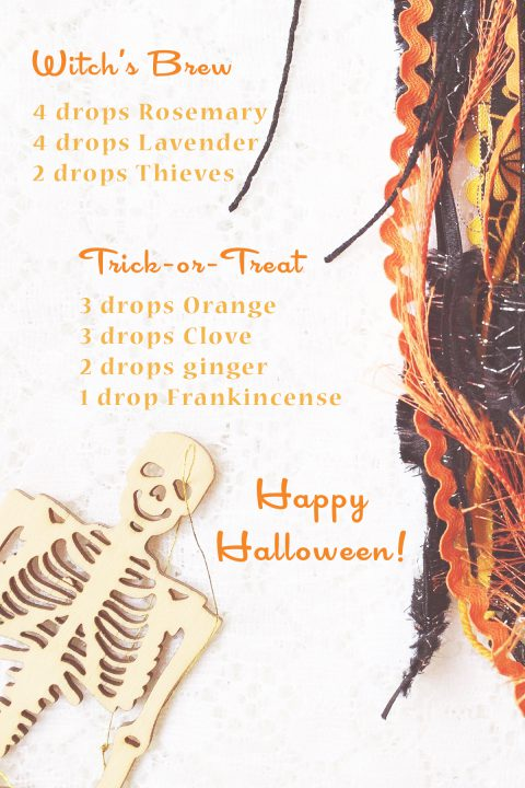Living With Essential Oils: October Blends. Halloween diffuser blends with free downloadable recipes!