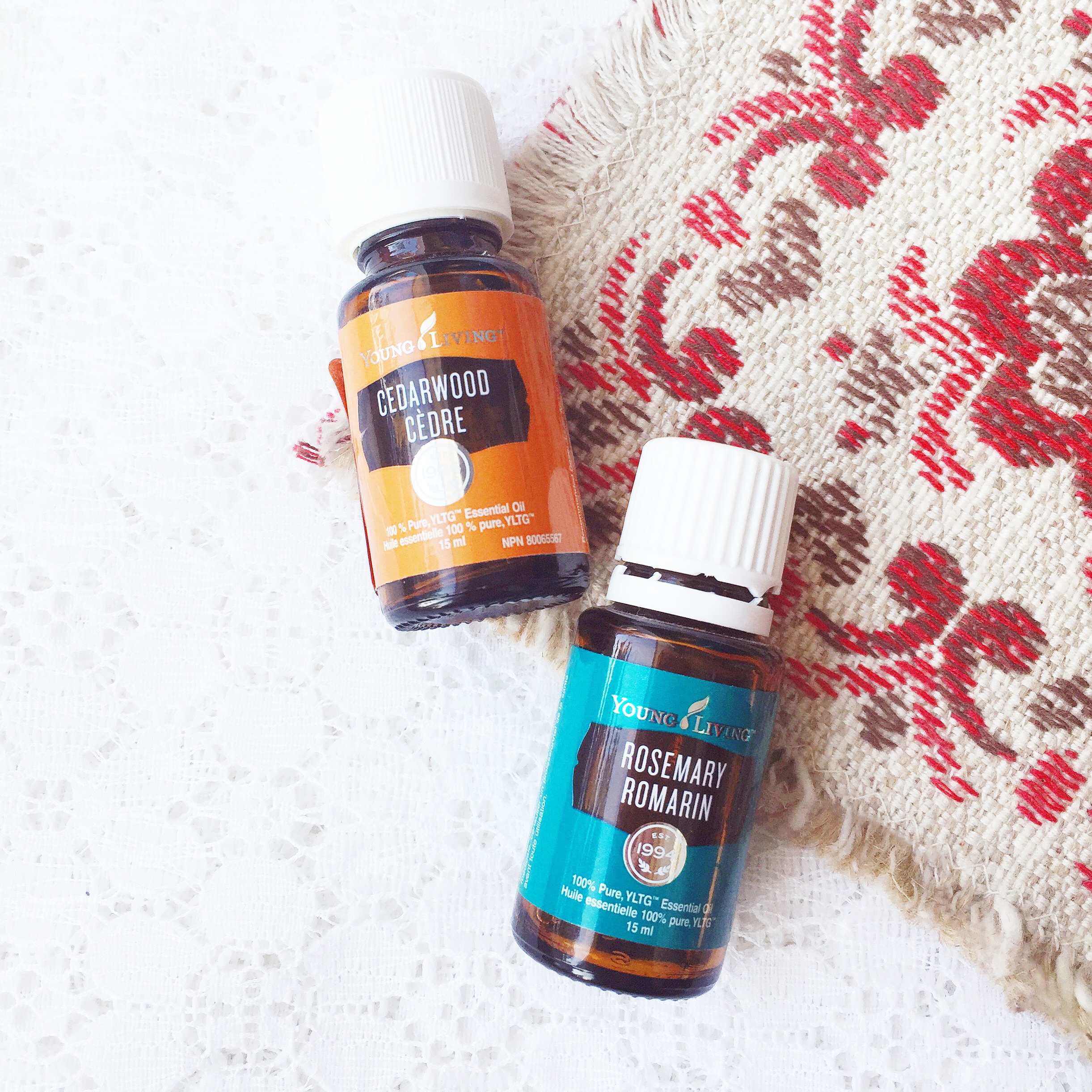 Living With Essential Oils: November Picks ~ Cedarwood & Rosemary Young Living Diffuser Blends