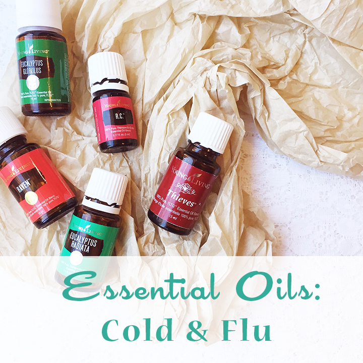 Living With Essential Oils: Cold & Flu ~ Natural Remedies and DIYs