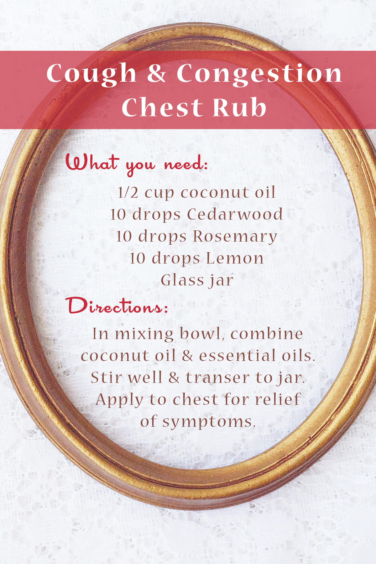 Living With Essential Oils: November Picks ~ Cedarwood & Rosemary Young Living DIY Chest Rub