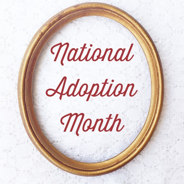 November is National Adoption Awareness Month ~ Our Personal Adoption Journey