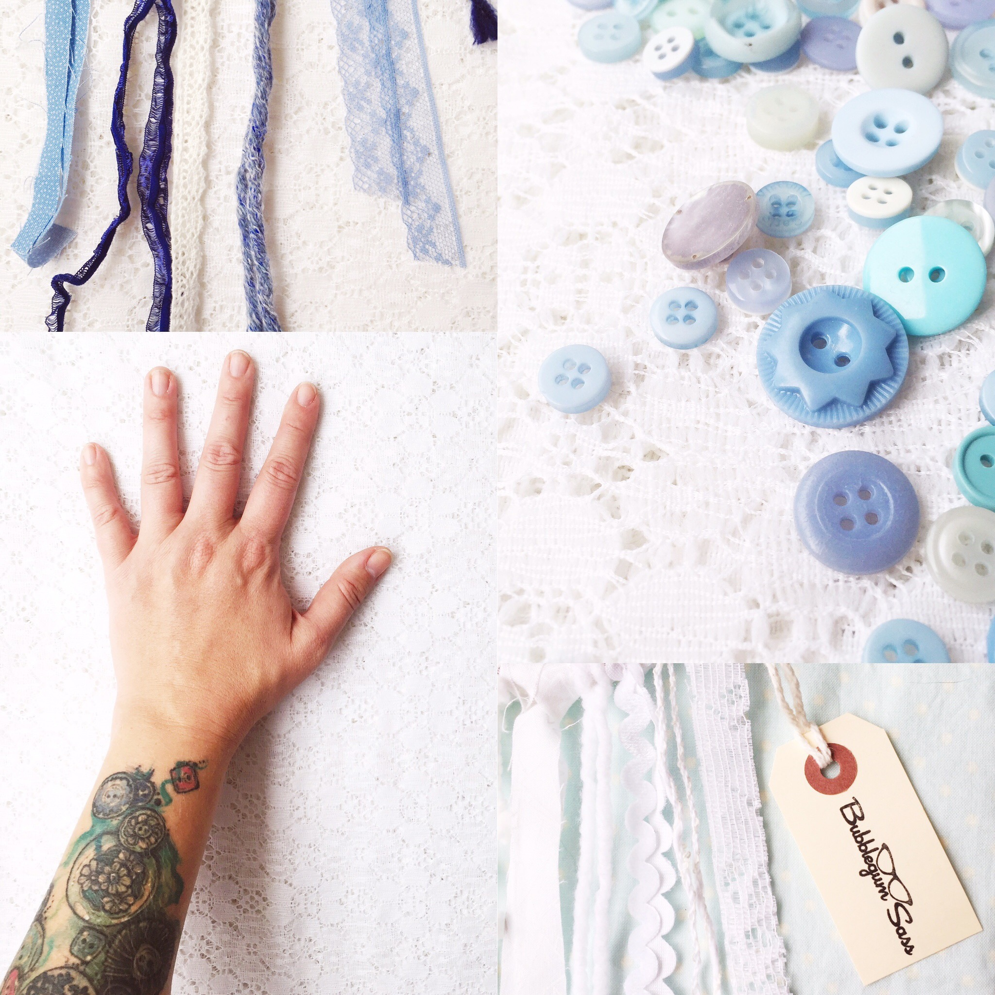 Color Inspiration: Creative Hands ~ Pastel Blues and Handmade Love