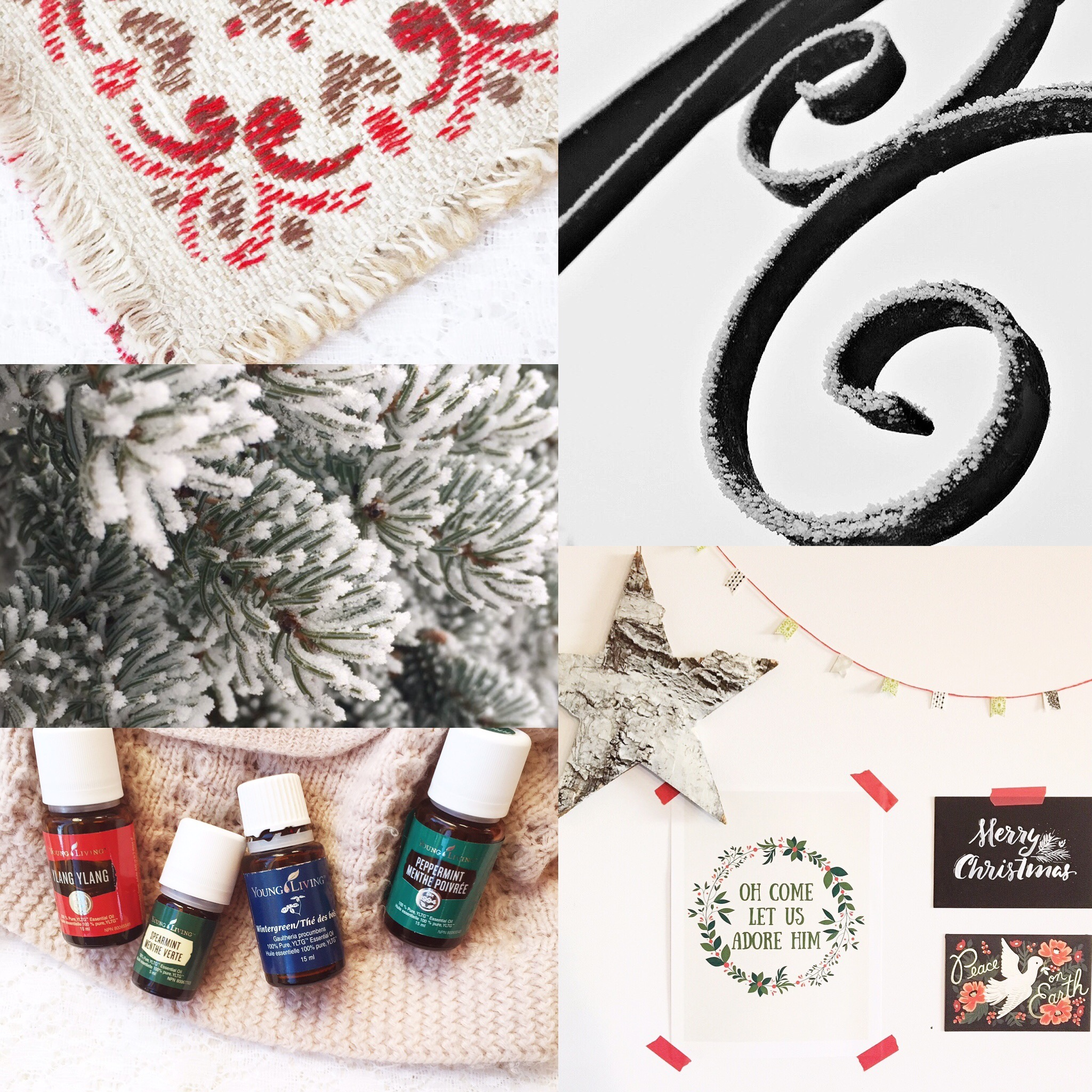 Weekly Color Inspiration: All Is Calm - Christmas Inspo in Red, Green and Black