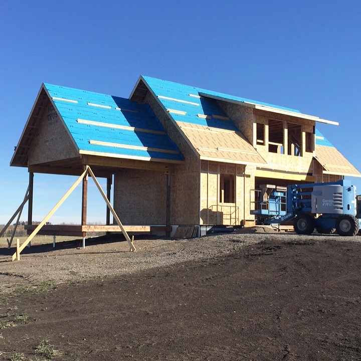 Farm Days: The Farmhouse - Building our farmhouse for Happiness By The Acre